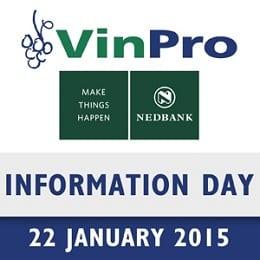 Nedbank VinPro Information Day: Feedback