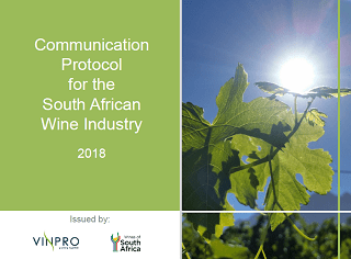 SA Wine Industry Media Protocol