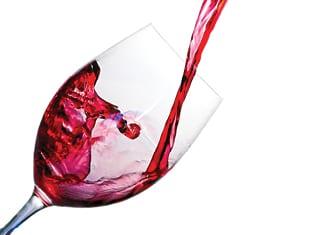 Wyn van die boonste rak