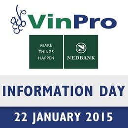 Presentations at Nedbank VinPro Information Day 2015