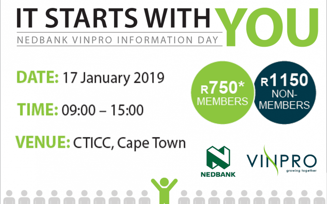Kick 2019 off with wine industry info day